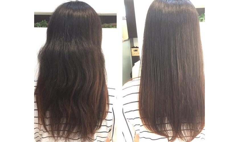 治す 髪の毛 パサパサ